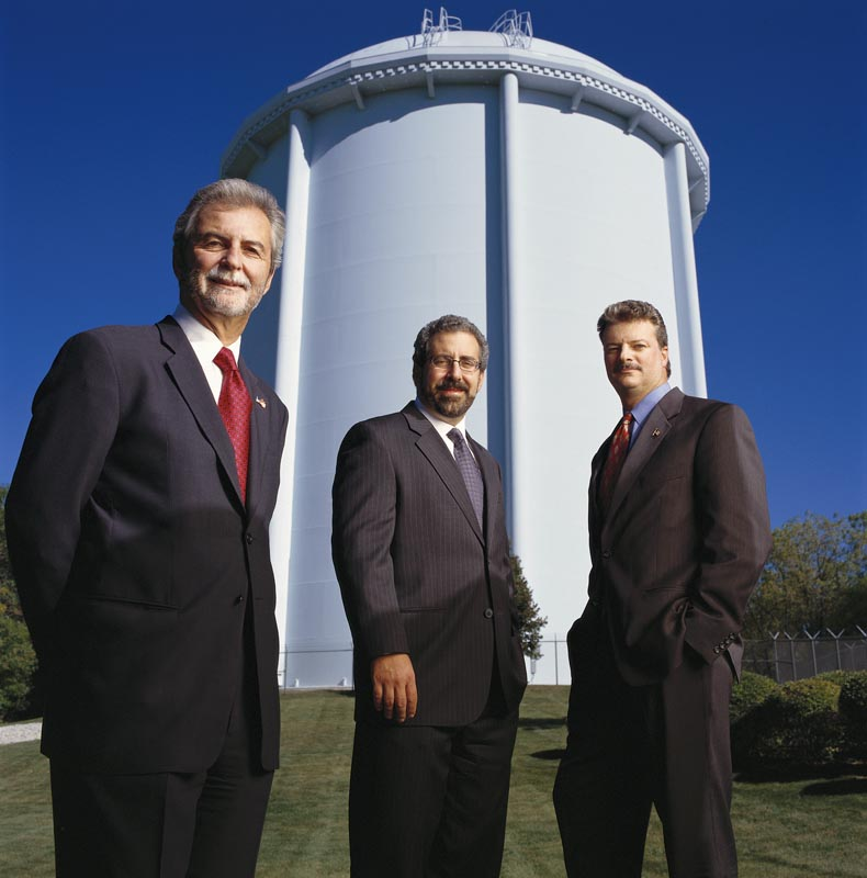 John P. Calamos, Sr., John P. Calamos, Jr. and Nick P. Calamos of Calamos Investments, Naperville, IL.