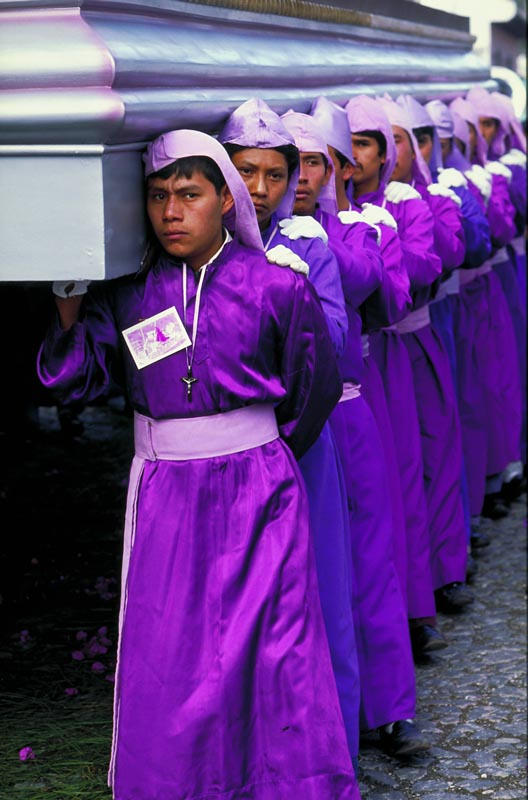 Processional during Semana Santa (Easter Week).