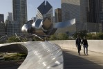 The BP Bridge, designed by architect Frank Gehry.