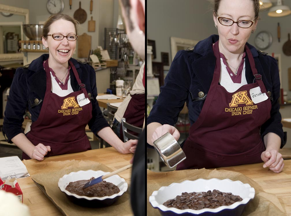 The Chicago Alumni Group met for a cooking class in Forest Park, IL.  A series of images were highlighted in the school's alumni magazine.