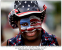 {quote}I love it, I asked them to paint something to match my hat,{quote} said Tamika Riely, from O'Fallon, Mo., as she shows off her patriotic spirit during Fair St. Louis in Forest Park on Tuesday, July 4, 2017. Photo by David Carson, dcarson@post-dispatch.com