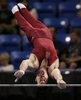 Ryan Lieberman, from Stanford, grasps for the bar as he does his routine on the high bar during the 2012 Visa Championships, USA Gymnastics' national championships in St. Louis on Thursday, June 7, 2012.  Lieberman finished in 16th place on the first day.Photo By David Carson, dcarson@post-dispatch.com
