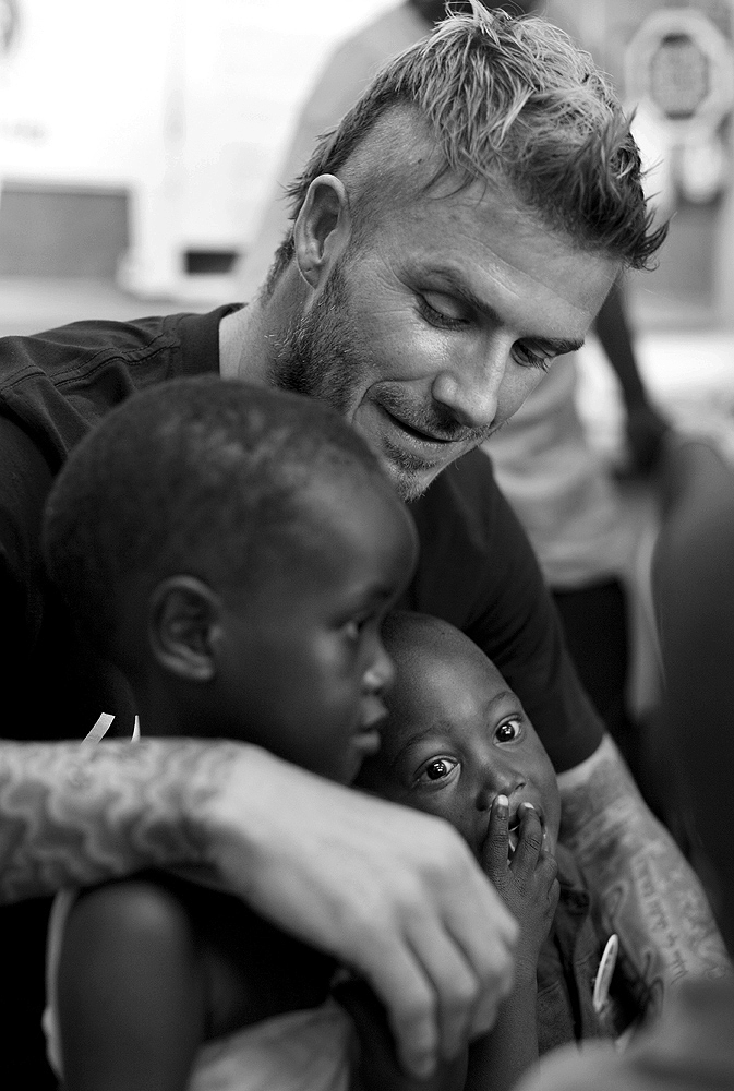 DAVID BECKHAM FOR UNICEF