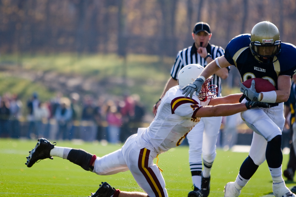 The annual Archbishop Williams-Cardinal Spellman Thanksgiving Day game.
