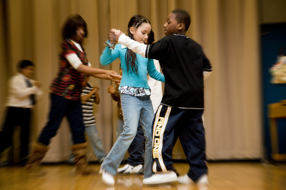 Hyde Square Task Force Learn Through Dance program.
