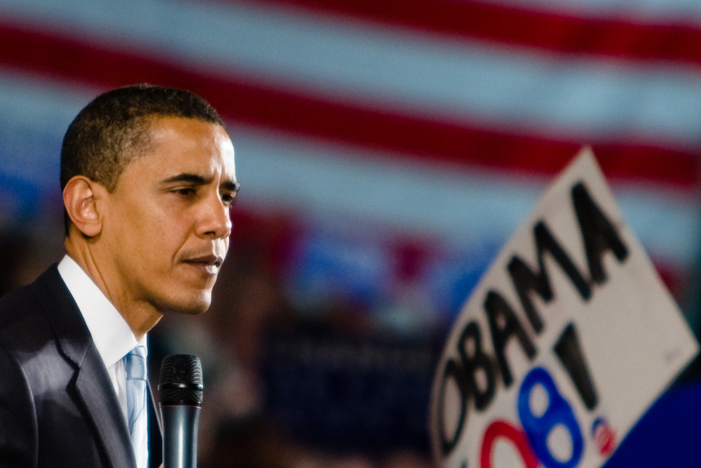 Presidential candidate Sen. Barack Obama (D-IL).