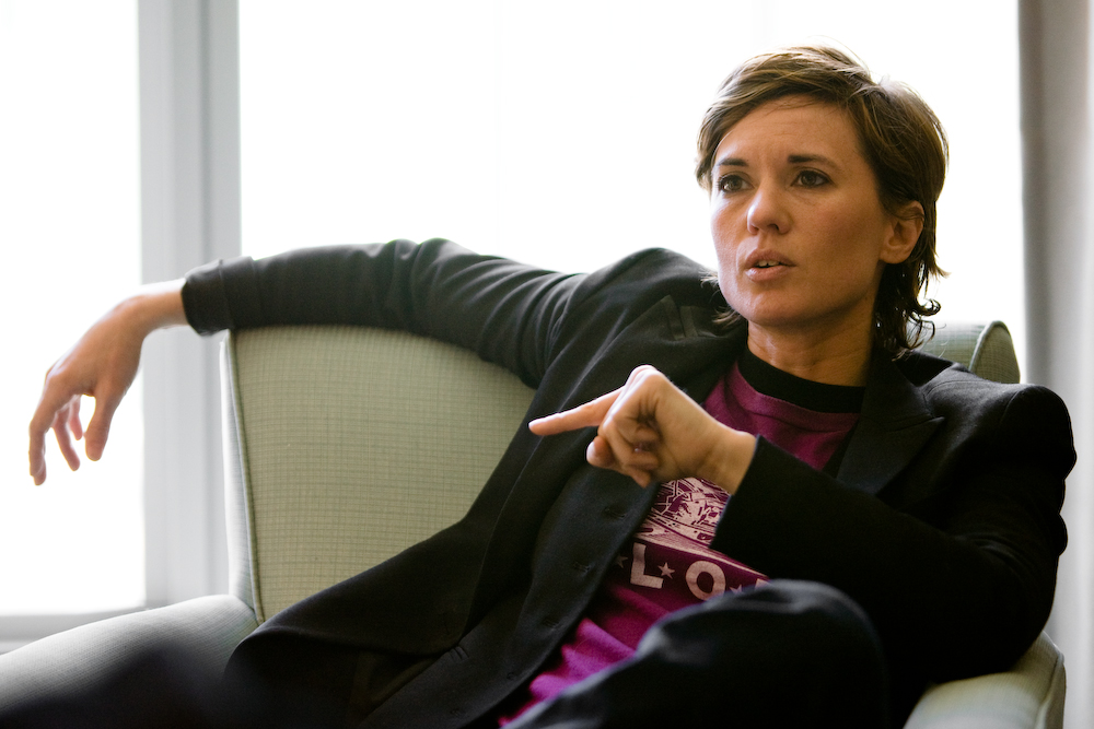 Director Kimberly Peirce discusses her movies Boys Don't Cry and Stop Loss.