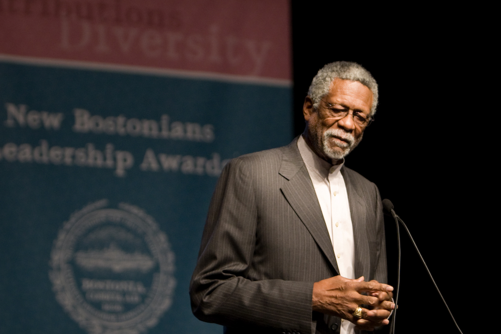 Boston Celtics legend Bill Russell reflects on his battles with racism in sports.