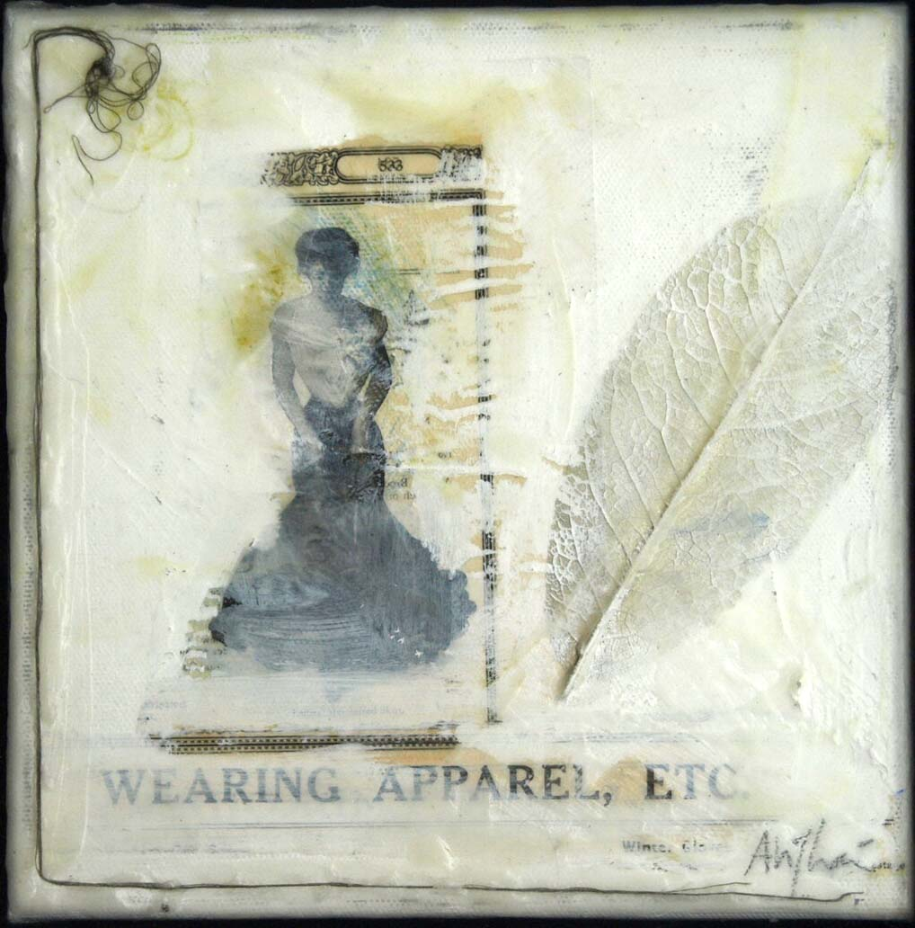 mixed media and encaustic on canvas [available]