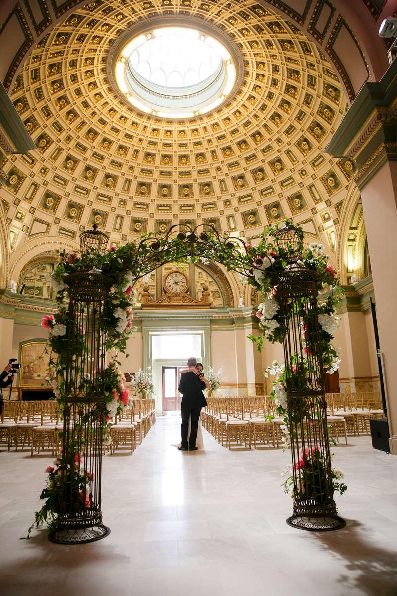 Alma Guerrero and Barrett Bready wedding on May 2, 2015. Photo by Paul Morse