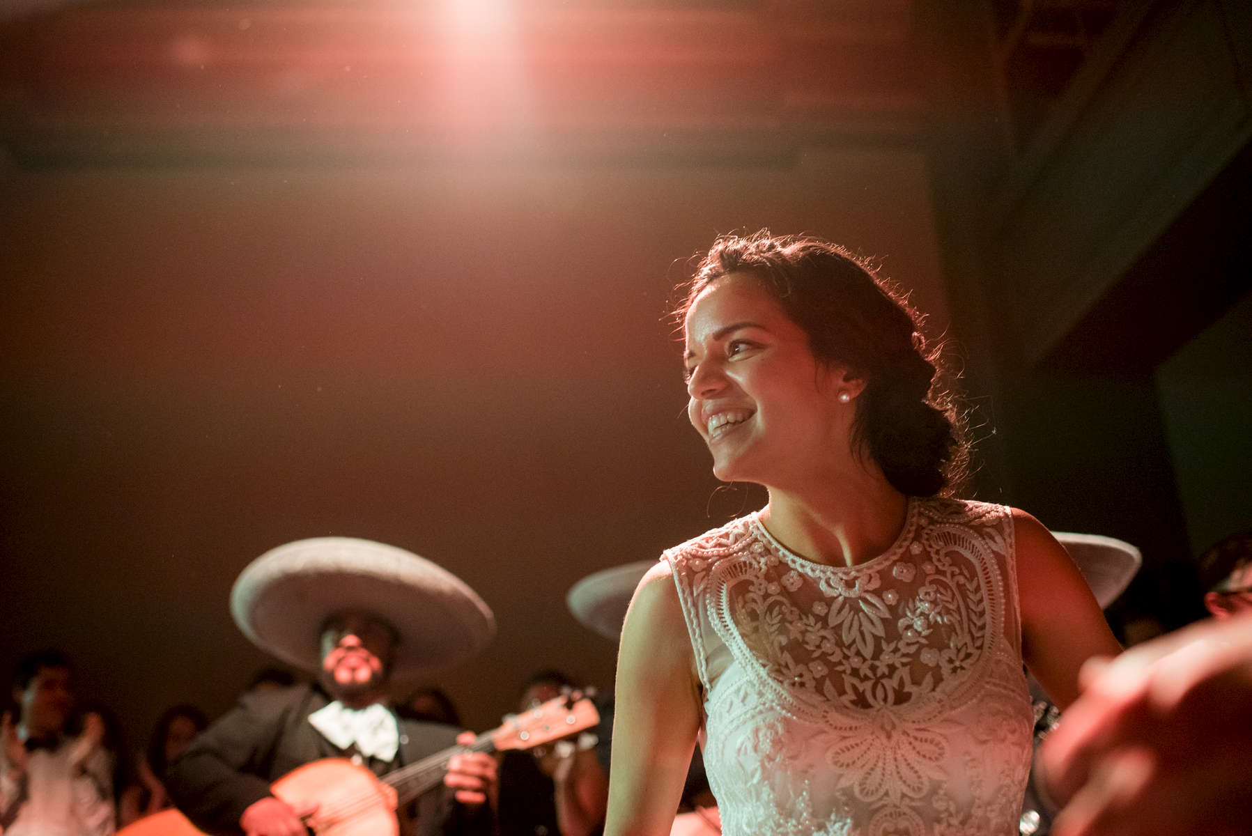 Alma Guerrero and Barrett Bready wedding on May 2, 2015. Photo by Paul Morse