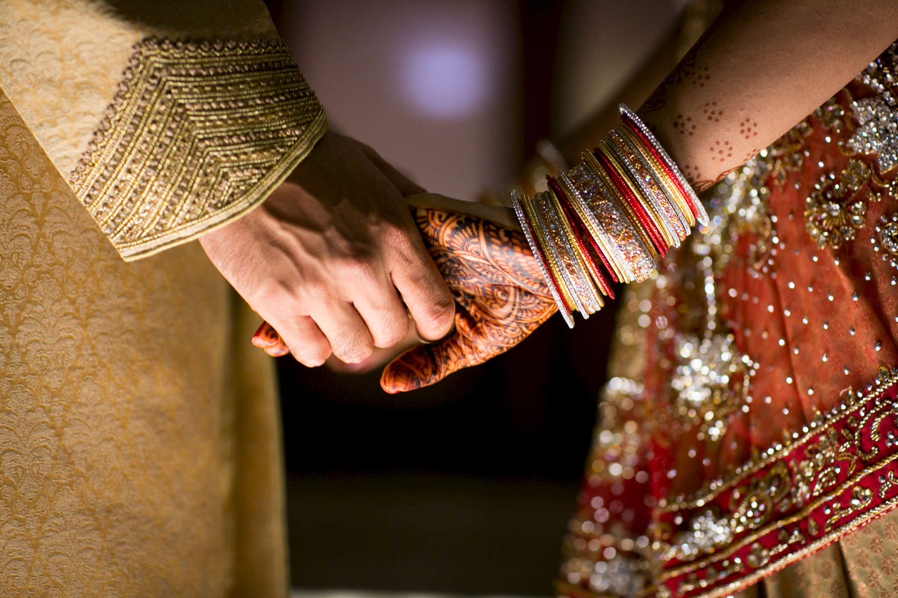 Haley Naik and Aneesh Raman wedding on September 1, 2012.