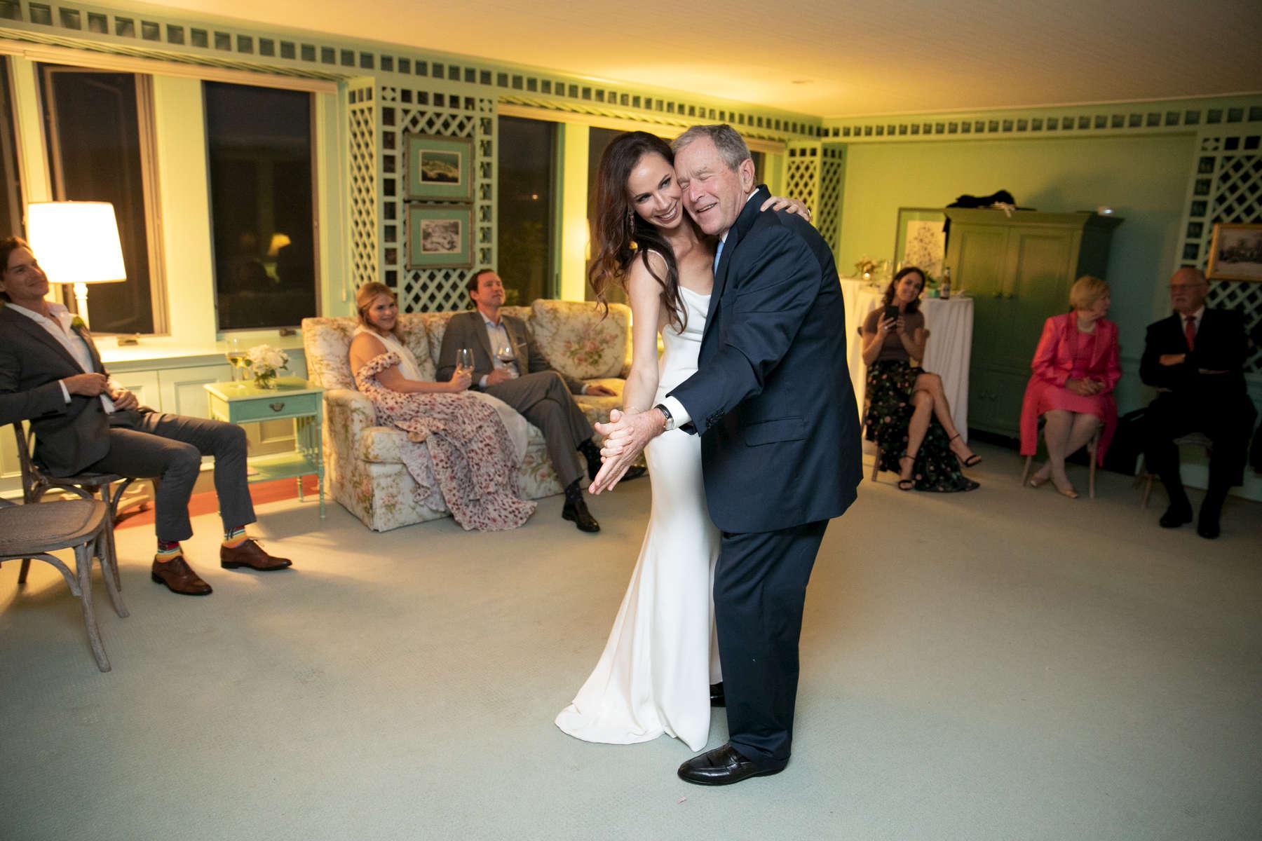 Barbara Bush and Craig Coyne wedding on October 7, 2018. Photo by Paul Morse