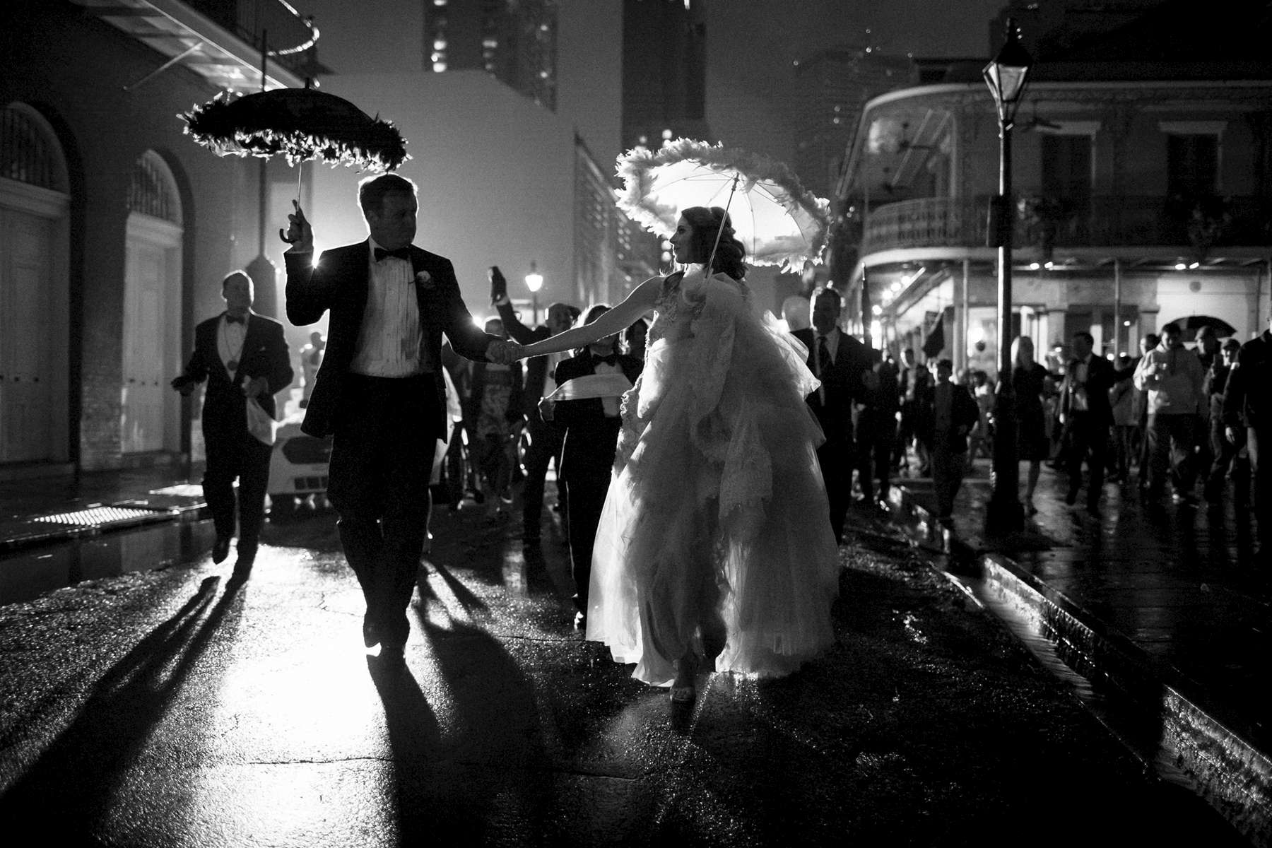 Holly Barker and Kirk Ogrosky Wedding in New Orleans on December 31, 2016. Photo by Paul Morse