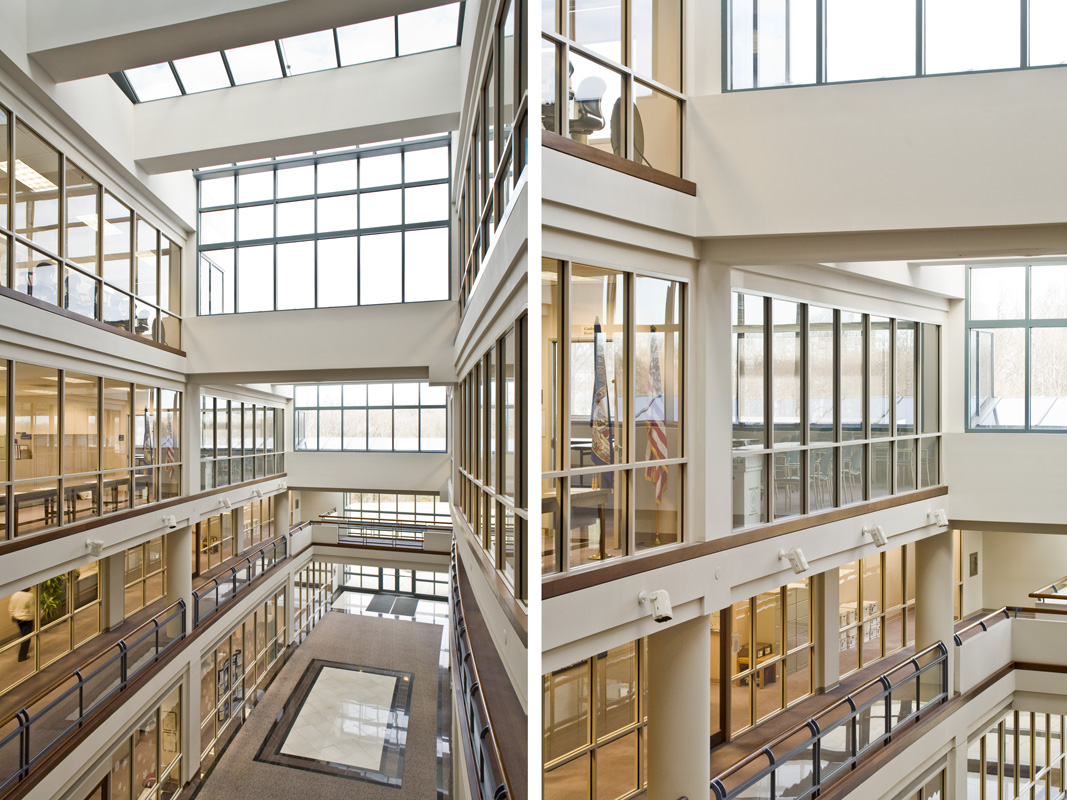 Floors  /  Client:  RTKL for Fairfax County Government  /  PHOTO © Ron Blunt Photography
