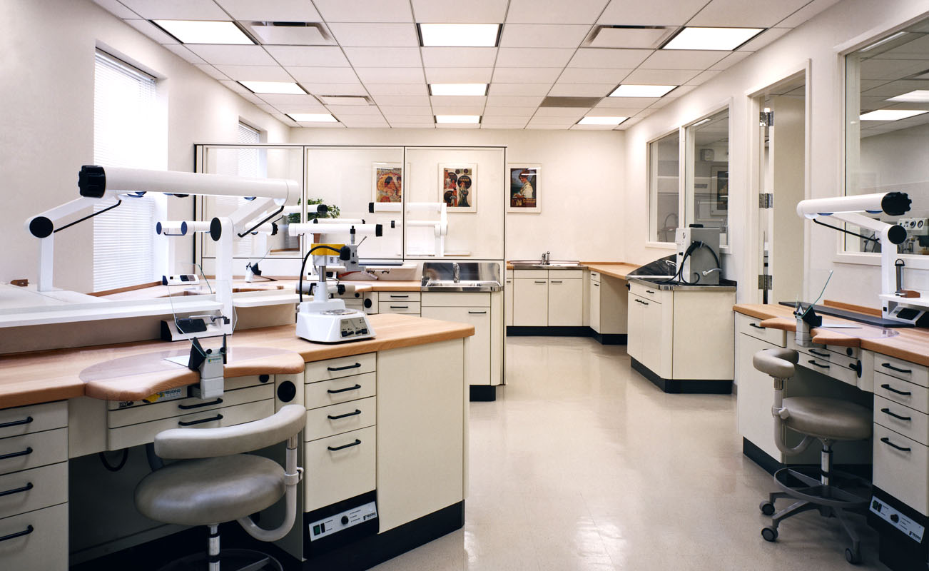 Laboratory, Advanced Dentistry International, Washington, DC  /  Client:  Marc Fetterman Associates
