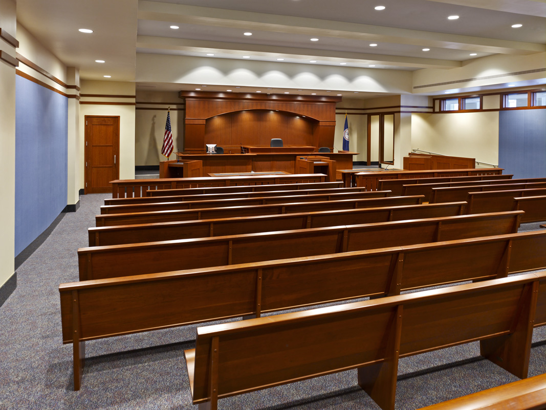 Courthouse Interior  /  Client:  Fairfax County Government