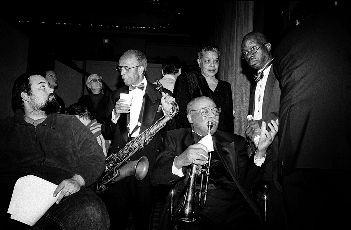 Jimmy Heath with Clark Terry and friends