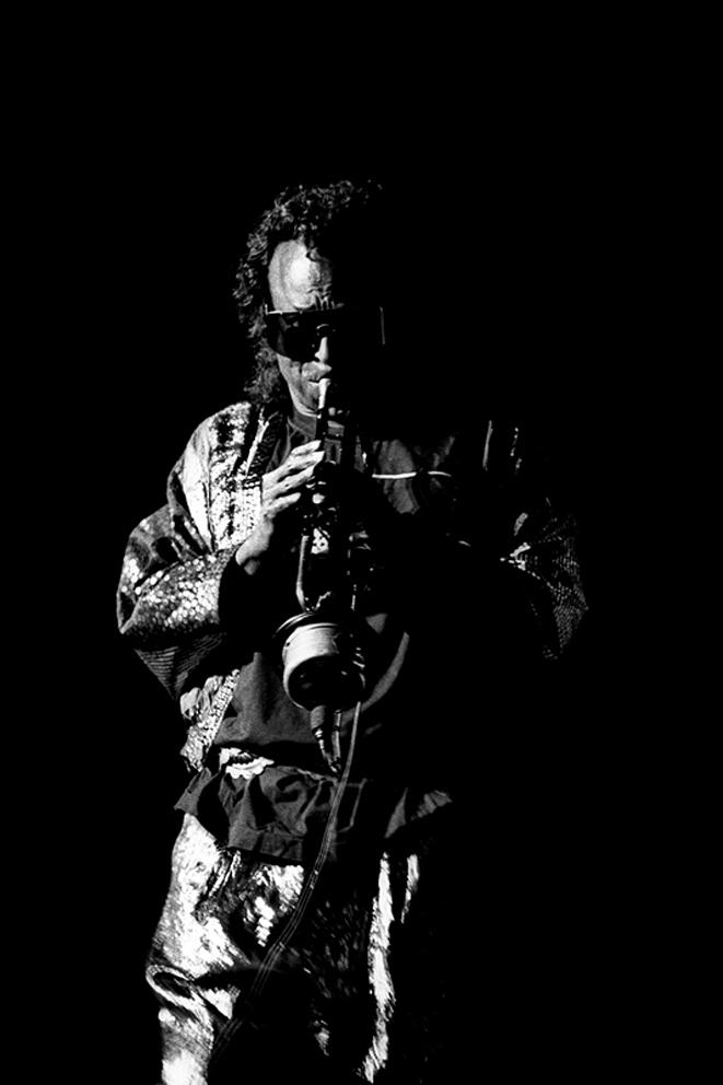 Miles Davis: Apollo Manchester, 1989. Photographed by William Ellis