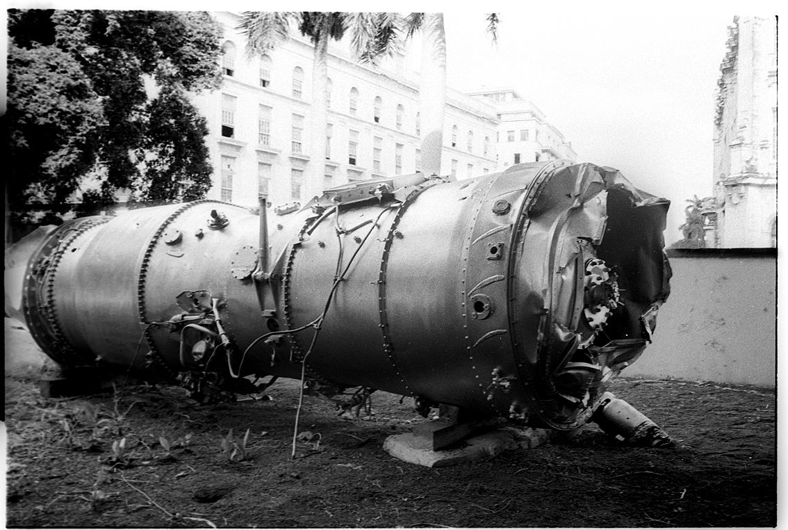 Engine-from-downed-U2-spy-plane