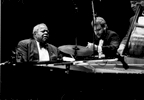 Oscar Peterson, Jeff Hamilton and Ray Brown