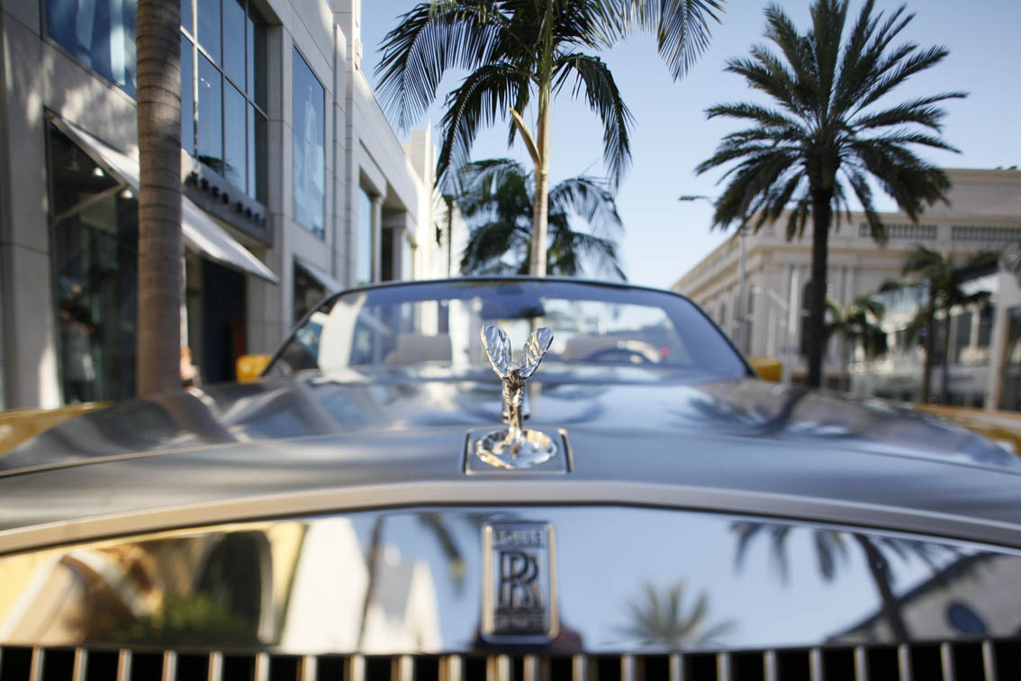 Rolls Royce: Rodeo Drive, Beverly Hills, CA 2008
