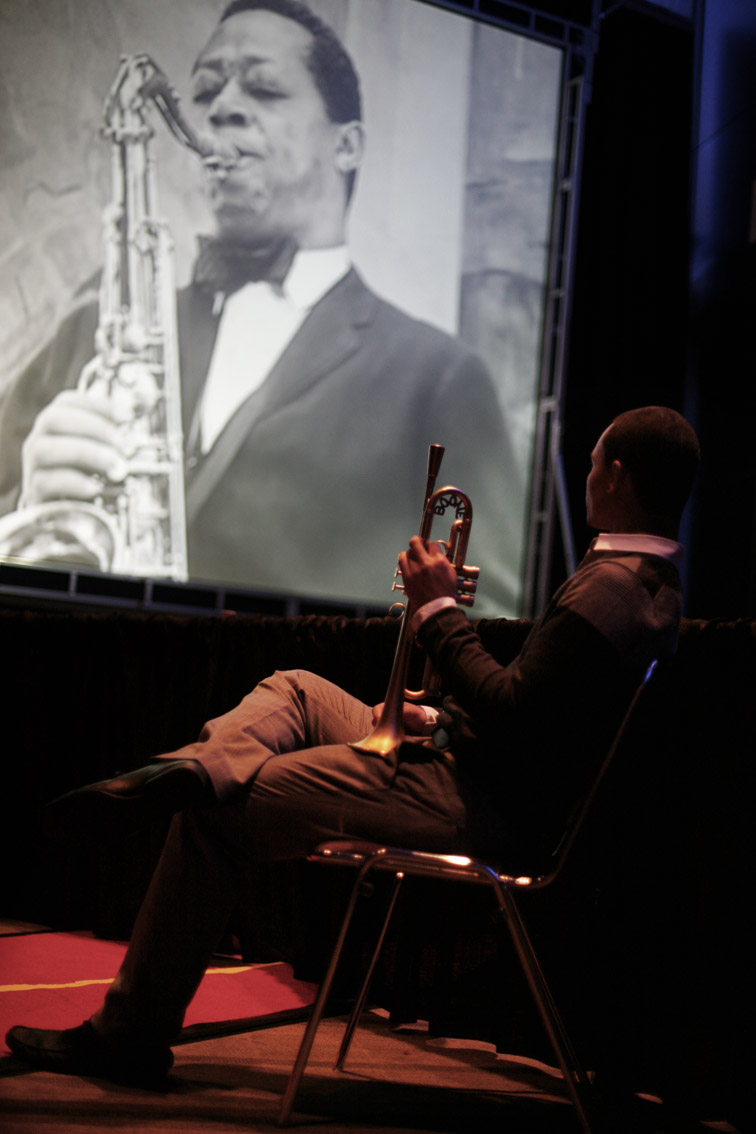 Jay Phelps, Charlie Rouse on screen