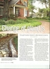 As a contributing author for the featured article titled {quote}Change of Plants.{quote} Ric Solow, founder and owner of Solow Design Group, Inc. Points out water-conscience ways Charlotte homeowners can plan their landscapes to become drought friendly.In the article Solow says {quote}Homeowners have a tendency to over-water their landscape, especially lawns with sprinkler systems. For an established landscape, watering once a week is plenty.{quote}