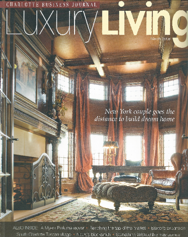 Ric Solow was a contributing author for this in-depth story featured in Charlotte Business Journal's {quote}Luxury Living{quote} publication. The story focuses on designing your Charlotte landscape in realtion to drought conditions and with common sense and conservation in mind.
