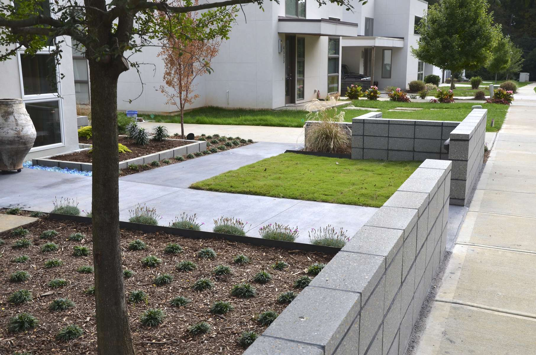 Cotswold Charlotte Nc Formal Garden Design Cotswold Contemporary Residential Solow Design