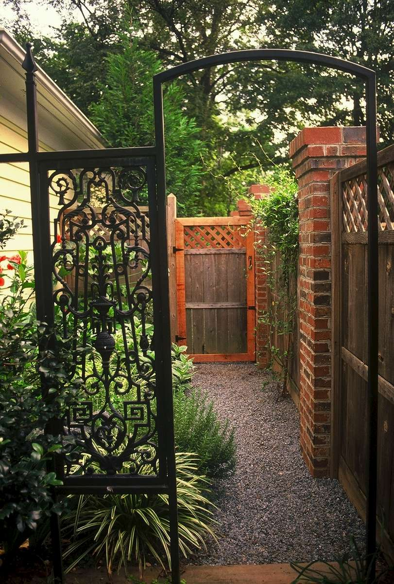 A Secret Garden In Dilworth Residential Solow Design Group Inc