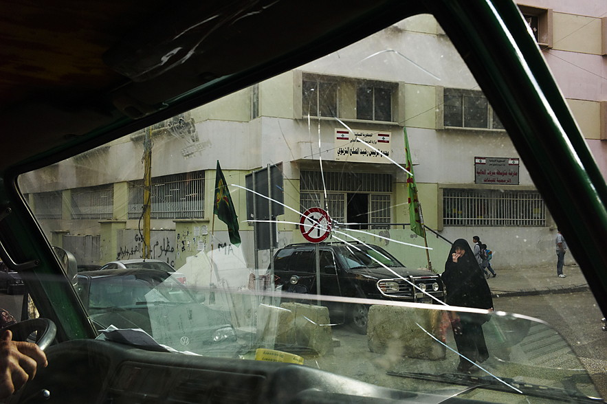 Beirut, view from a taxi, May 2013