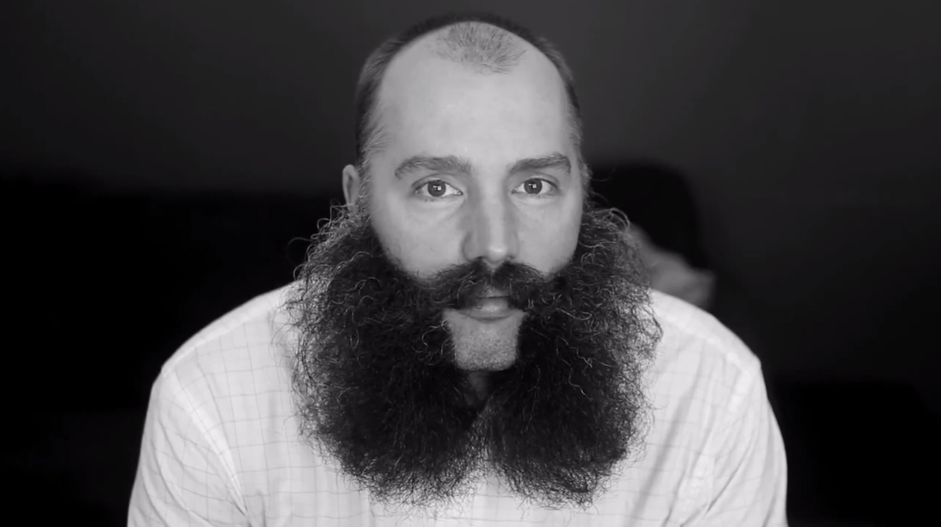 Mike {quote}MJ{quote} Johnson and Chris Sorensen are two of nearly 100 competitors in the 2013 Beard-Off at First Avenue in Minneapolis, Minn. Johnson is the reigning Minnesota Beardsman and hopes to repeat in the fourth-annual contest.