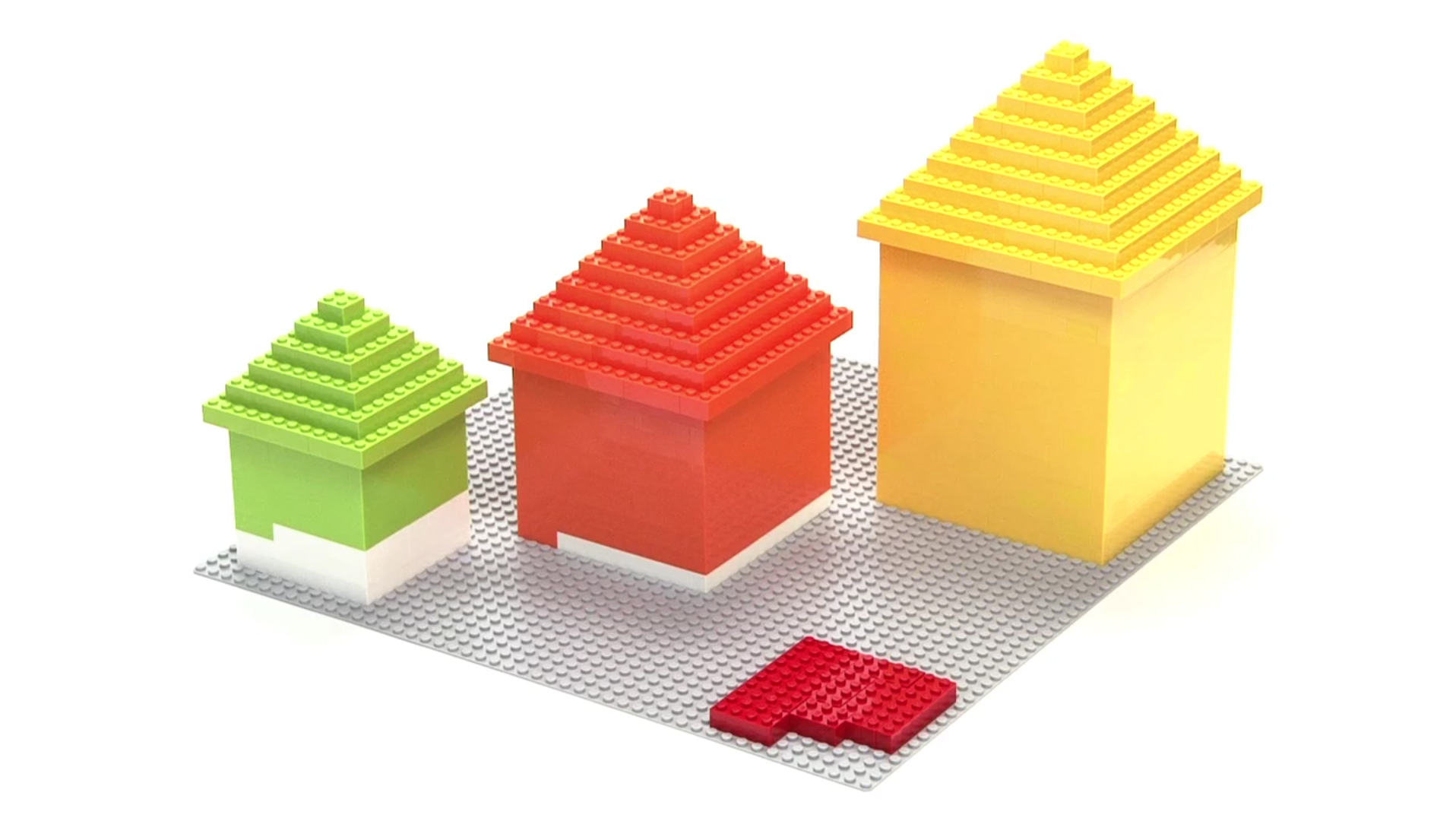 A hypothetical town made of Legos is used to explain why property taxes will likely go up in Minnesota next year.