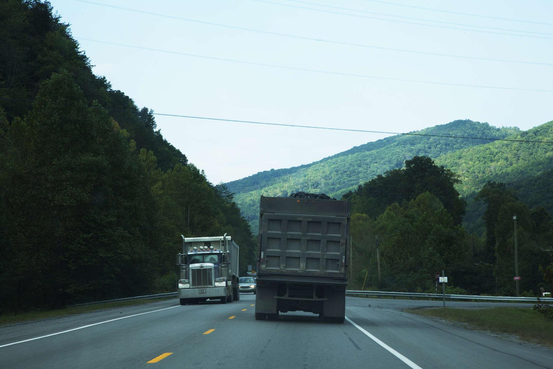 Coal TrucksHarlan County, KY