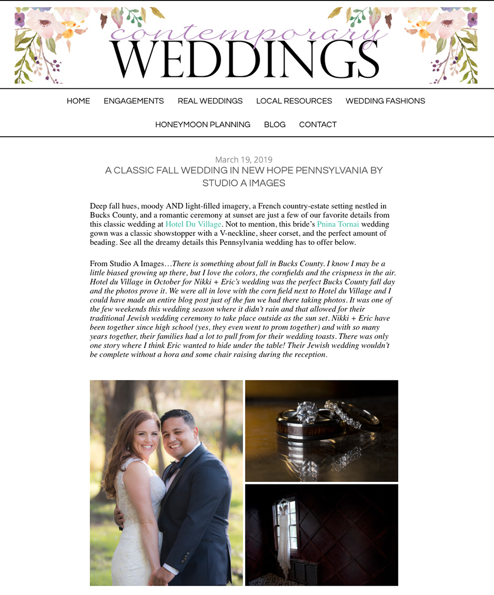 Contemporary Weddings - March 2019read the full post here