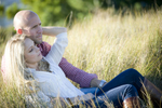 engagement session at Spring Lake beach. Jersey Shore wedding photographers