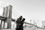 wintery engagement session in Brooklyn. Brooklyn wedding photographers