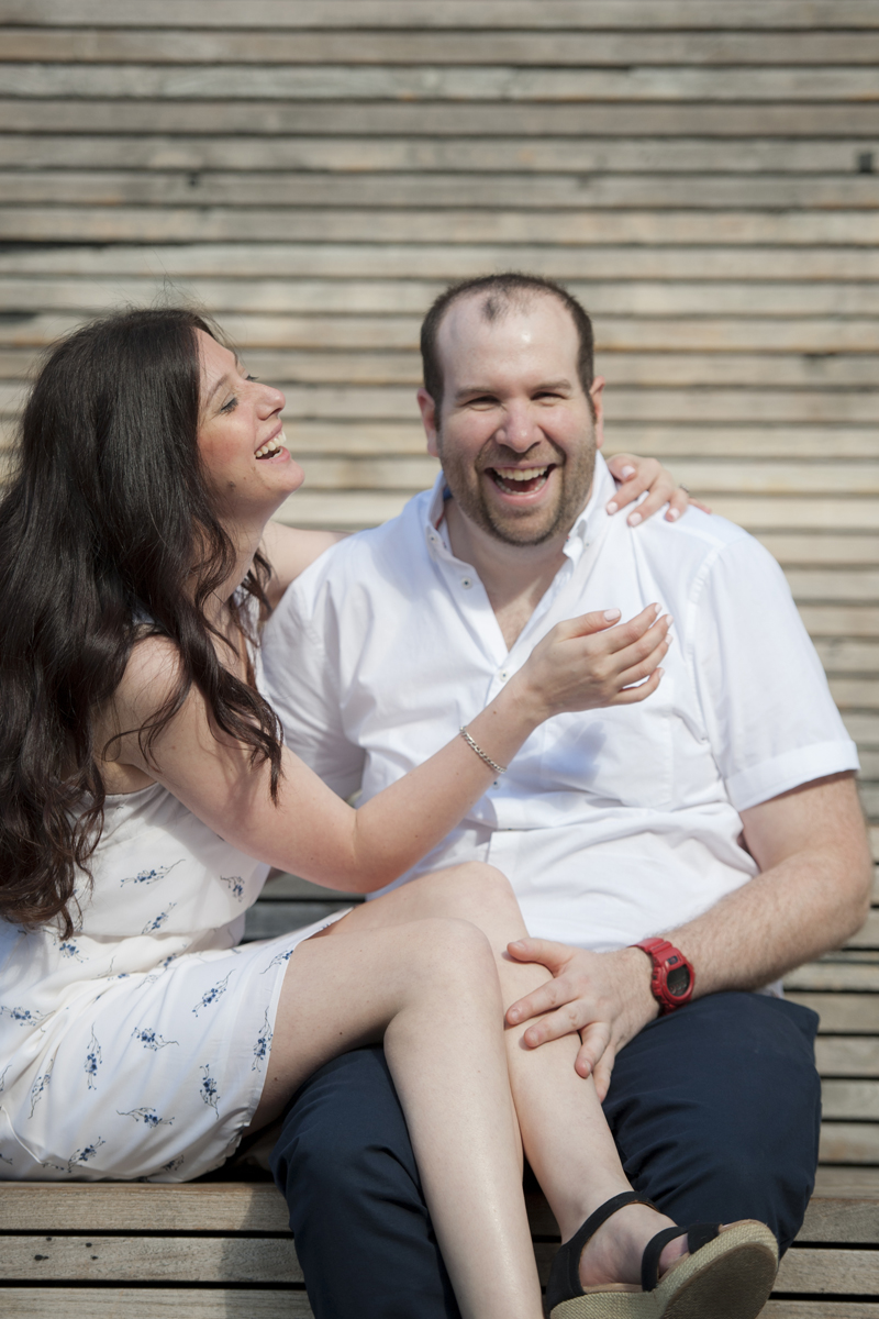 NYC engagement session at The High Line