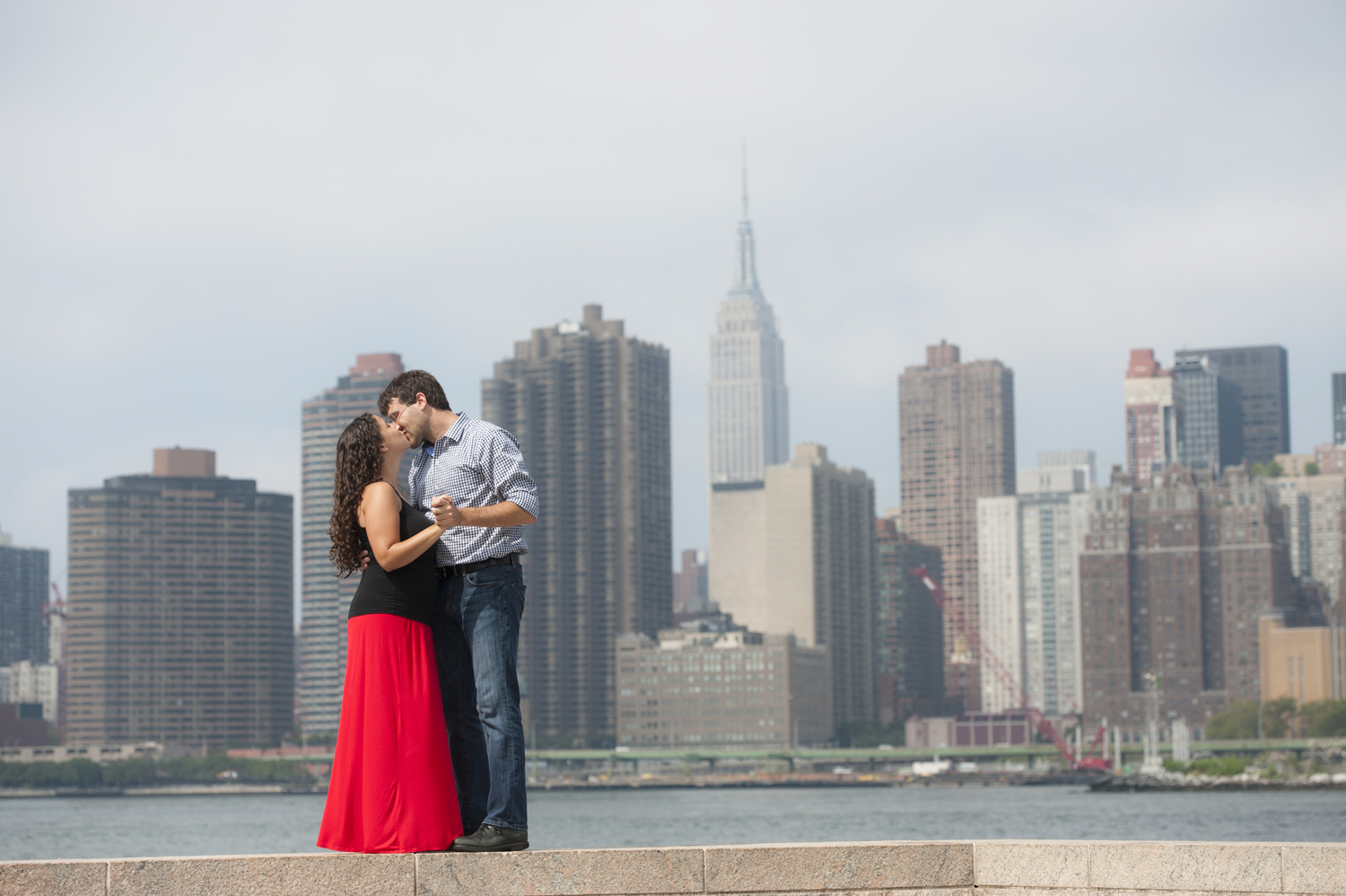 Long Island City engagement photos