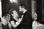 Groom dances with his mother at wedding at Union Theological Seminary. NYC wedding photos