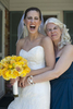 mother daughter moment on bride's wedding day. NJ wedding photographers