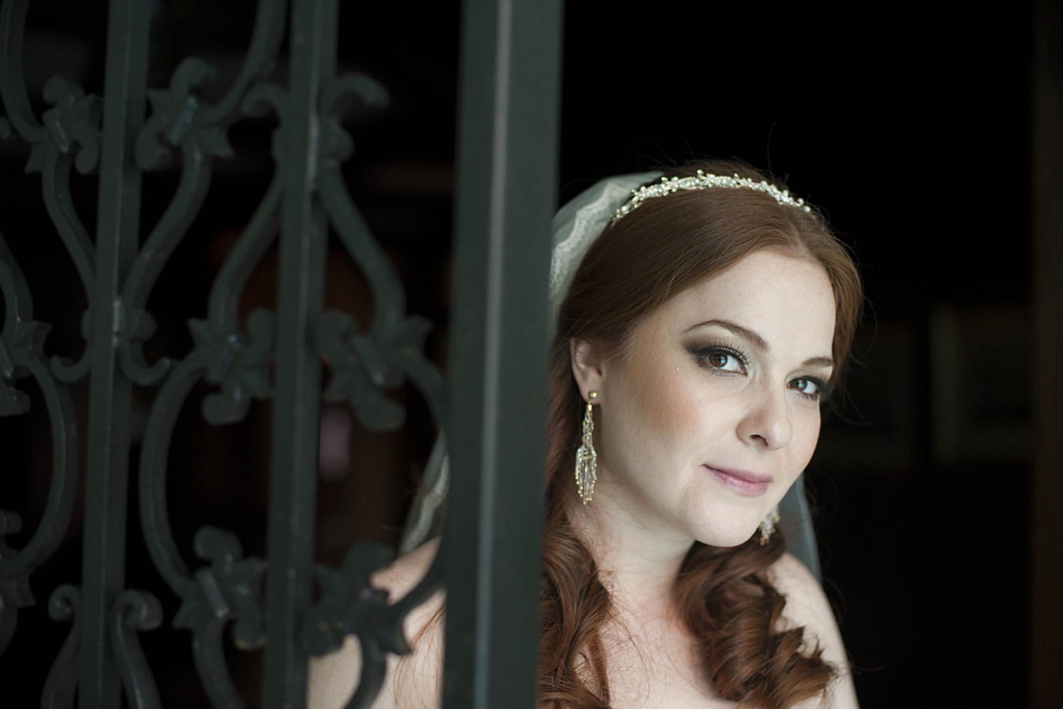 Bridal portrait at Pleasantdale Chateau. NJ wedding photos