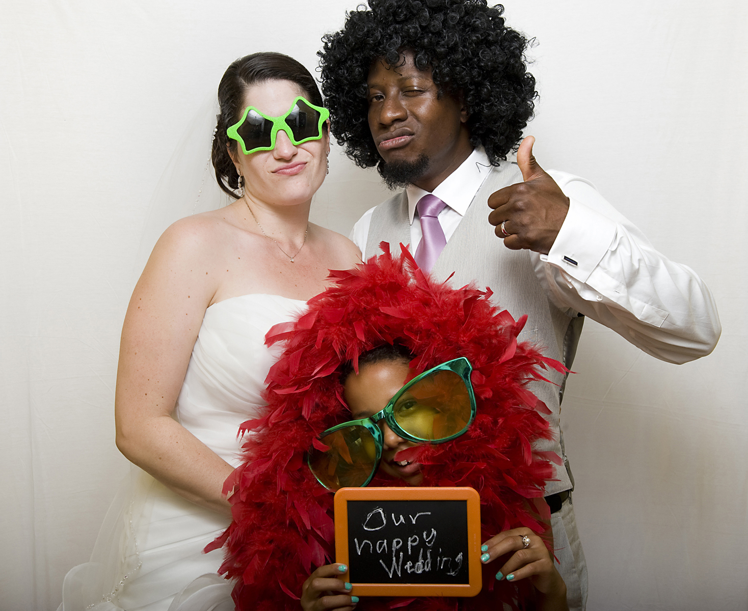 Photobooth portrait of bride and groom at The Water Witch Club at Monmouth Hills. NJ wedding photography