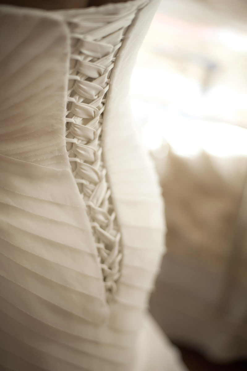 corset wedding dress. Brooklyn wedding photographers