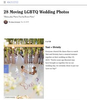 Oprah Magazine - December 20198 photos were included in their feature on LGBTQ weddingssee all of the photos here