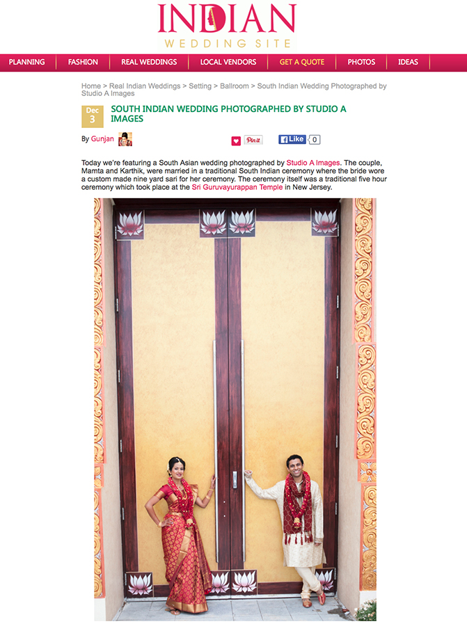 Indian Wedding Site - December 2015read the full post here