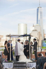 jewish wedding ceremony at Hyatt Regency Jersey City