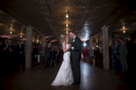 bride and groom's first dance at Kolo Klub in Hoboken. Hoboken wedding photograhers