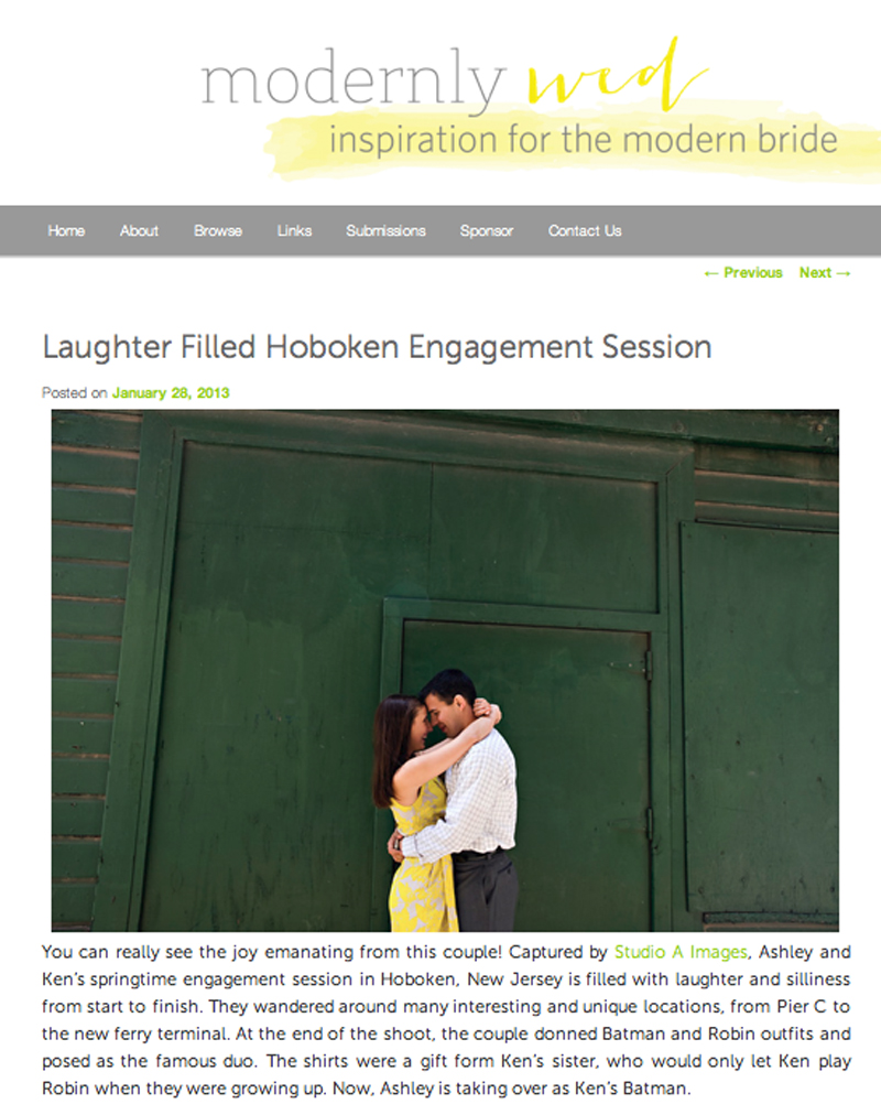 Modernly Wed- January 2013